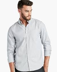 lucky brand men u0027s long sleeve white label striped button down