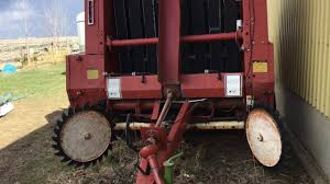 red 1978 hesston rounder 5580 review ab oneownerclub youtube