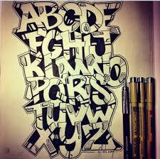 letters graffiti alphabet wall graffiti art