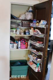dollar store hall closet organization ideas