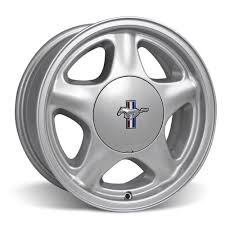 mustang pony wheel ford licensed center cap 16x7 silver 79 93