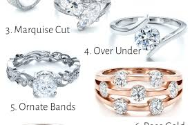 Difference Between Engagement Ring And Wedding Ring by Engagement Rings Frightening Wedding Band Under Engagement Ring