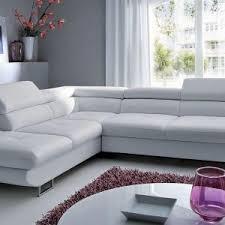 canapé d angle scoop scoop canapé simili cuir d angle gauche blanc canapé idées de