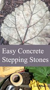 Garden Stone Craft - best 25 concrete stepping stones ideas on pinterest diy