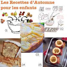 recettes de cuisine pour enfants cuisine des recettes de cuisine d automne pour les enfants