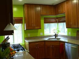 Kitchen Green Walls Kitchen With Oak Cabinets Green Walls Exitallergy Com
