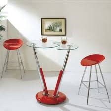 Glass Breakfast Bar Table Buy Bar Tables Poseur Exhibition Glass Throughout Table And