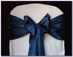 navy blue chair sashes chair sashes ebay lace chair sashes bows wedding reception party