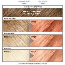 loreal hair color chart ginger colorista semi permanent hair color for brunettes l oréal paris