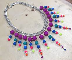 tutorial necklace making images Make your own linked spiked bead necklace tutorial the beading JPG
