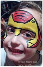 13 best face paint ideas images on pinterest makeup superhero