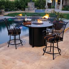 unique fire pits bar height fire pit table