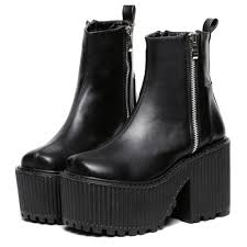 moto shoes valentine u0027s day sale moto ziper grunge boots shoes pinterest