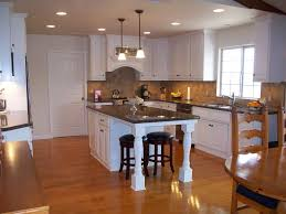Kitchen Island With Granite Top And Breakfast Bar Kitchen Cool Wall Mount Maple Wooden With Cabinet Black Granite