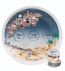 passover plate passover plate with matching plates