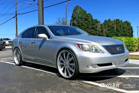 lexus ls 460 tires lexus ls460 with 24in vellano vti wheels exclusively from butler