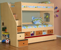 bunk beds with stairs and storage 2914full bunk bed stairs sold