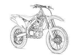 fox racing coloring pages motorcycle coloring page getcoloringpages com