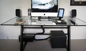 Double Pedestal Desk With Hutch by Desk L Shaped Desk With Keyboard Tray Awesome Desk With