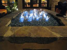 Fire Glass Fire Pit by Turn Your Old Lava Rock Into A Modern Glass Fire Pit Our Fire