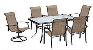 Amazon Com 7 Piece Dining Set Perfect For Any Outdoor Dining Set