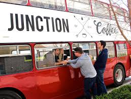 Oklahoma travel buses images Junction coffee now brewing on a double decker bus in okc jpg