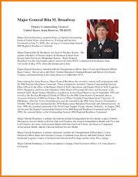 army resume sample 8 resume bio example appeal leter 8 resume bio example