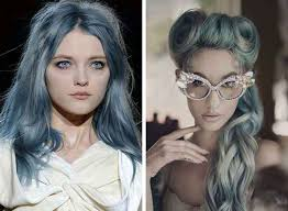 gray hair color trend 2015 gray blue hairstyles trends fall winter 2018 2019