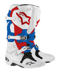 alpinestars tech 7 motocross boots alpinestars mens tech 7 motocross boots patriot 10 ebay