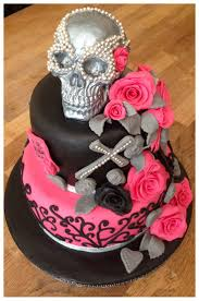 Halloween Birthday Party Cakes by Best 25 Skull Cakes Ideas On Pinterest Gothic Wedding Cake