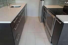 modern porcelain tile modern full bathroom with flush amp tiled
