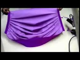 How To Make Swag Curtains How To Make Swags And Trumpets Youtube