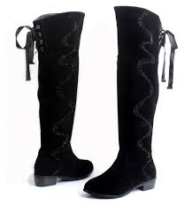 s boots plus size calf fashion plus size boots 40 43 genuine leather rabbit fur knee high