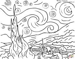 coloring page for van 85 best sunflower coloring page van gogh images on pinterest