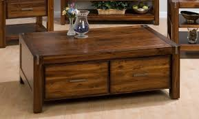 Wooden Coffee Table With Drawers Coffee Tables Marvellous Coffee Table And End Tables Design Ideas