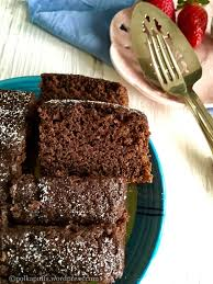 eggless chocolate sponge cake in pressure cooker vegan chocolate