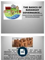 Sle Of Barangay Certification Letter Barangay Governance And Planning A Field Guide Governance