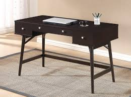Contemporary Writing Desk Dunkirk Modern Writing Desk In Dark Brown U2013 Modern Retailers