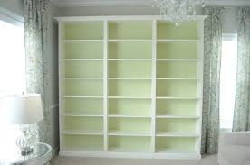 furniture white painted wooden wall cabinet which furnished with