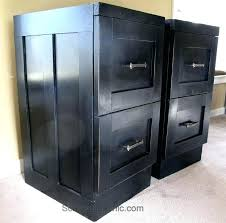 Diy Desk With File Cabinets Diy File Cabinet Best Painted File Cabinets Ideas On Painting