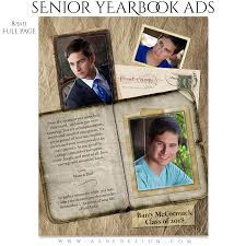 how to make a senior yearbook ad senior yearbook ads for photoshop collecting moments ashedesign