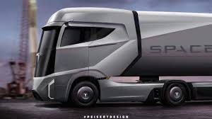 volvo tractor truck the tesla electric semi truck will use a colossal battery