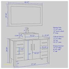 Standard Height Of Vanity Bathroom Sink Faucets Average Bathroom Sink Height New 35 5