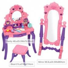 Vanity Playset Girls Wooden Vanity Set Foter