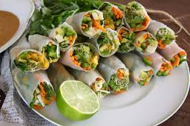 where to buy rice paper wraps fresh veggie rice paper rolls with tofu avocado and mango