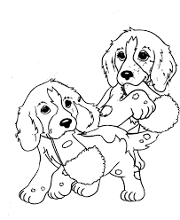 coloring pages puppy cartoon puppy coloring page for kids animal