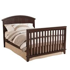 How To Convert Crib To Full Size Bed by Jonesport Convertible Crib Chocolate Mist Westwood Design