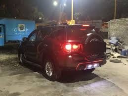 modified toyota this modded toyota fortuner appears like an aggressive jeep