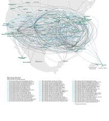 United Route Map Route Map Frontier Airlines