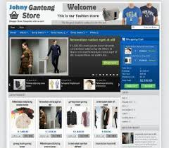 download template toko online simple johny ganteng with cart